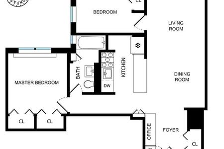 1 Bed at 120 Riverside Blvd Unit 1C