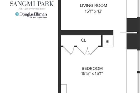 1 Bed at 120 Riverside Blvd Unit PH47H