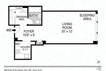0 Bed at 120 Riverside Blvd Unit 8S