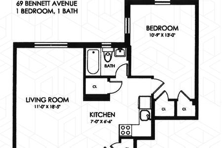 1 Bed at 120 Riverside Blvd Unit 301