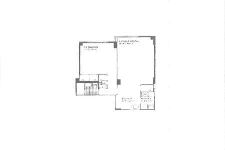1 Bed at 120 Riverside Blvd Unit 3L