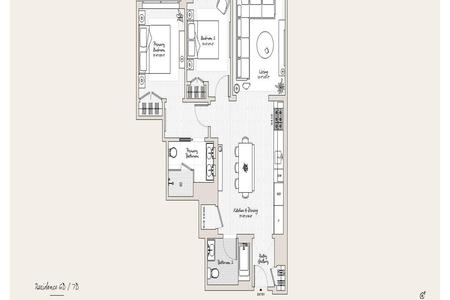 2 Bed at 120 Riverside Blvd Unit 6D