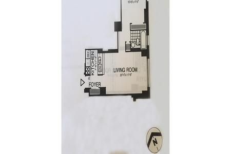 1 Bed at 120 Riverside Blvd Unit 31L