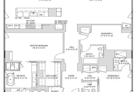 3 Bed at 120 Riverside Blvd Unit 31