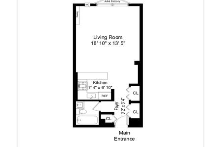 0 Bed at 120 Riverside Blvd Unit 723