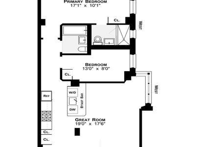 2 Bed at 120 Riverside Blvd Unit C202