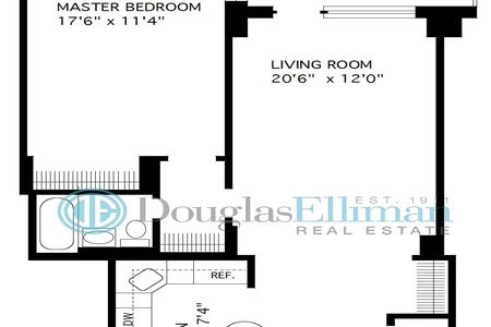 1 Bed at 120 Riverside Blvd Unit 4L
