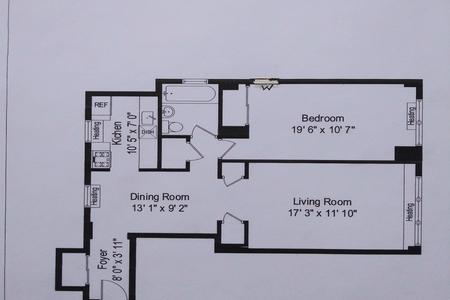 1 Bed at 120 Riverside Blvd Unit 6A