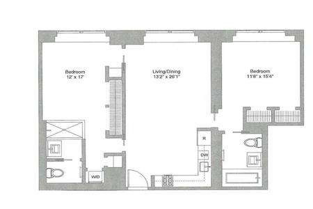 0 Bed at 120 Riverside Blvd Unit 51D