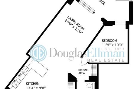 1 Bed at 120 Riverside Blvd Unit 7M