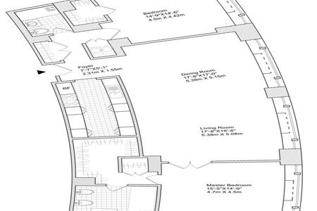2 Bed at 120 Riverside Blvd Unit 3DE