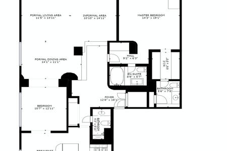 3 Bed at 120 Riverside Blvd Unit 45A