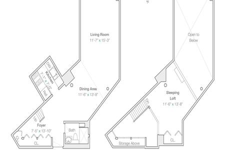 1 Bed at 120 Riverside Blvd Unit 619