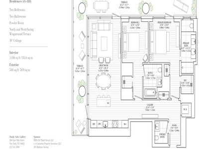 2 Bed at 120 Riverside Blvd Unit 14A