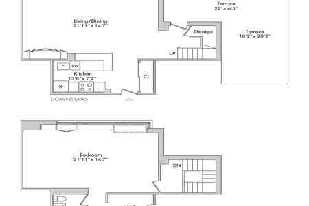 1 Bed at 120 Riverside Blvd Unit PHJ