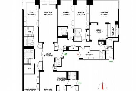 5 Bed at 120 Riverside Blvd Unit 44AB