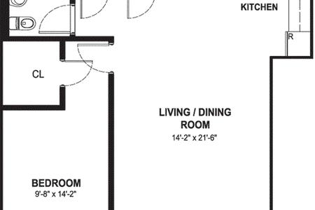 1 Bed at 120 Riverside Blvd Unit 2I