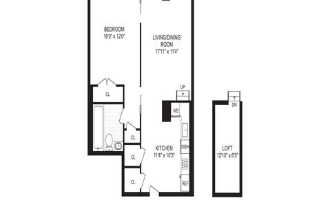 1 Bed at 120 Riverside Blvd Unit 8P