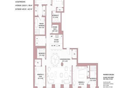 4 Bed at 120 Riverside Blvd Unit 14A