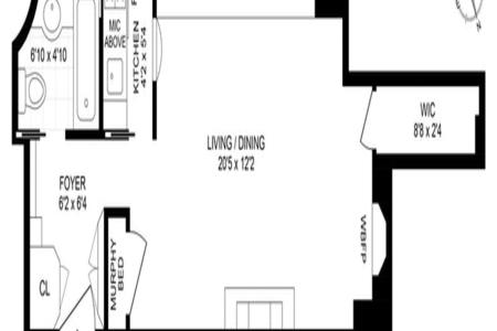 0 Bed at 120 Riverside Blvd Unit 3E