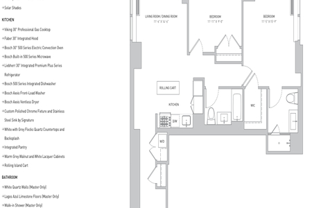 2 Bed at 120 Riverside Blvd Unit 42A