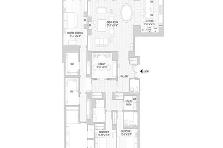3 Bed at 120 Riverside Blvd Unit 14C