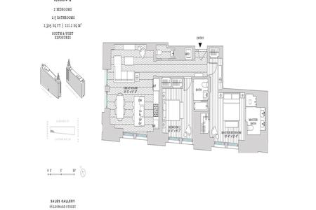 2 Bed at 120 Riverside Blvd Unit 10E