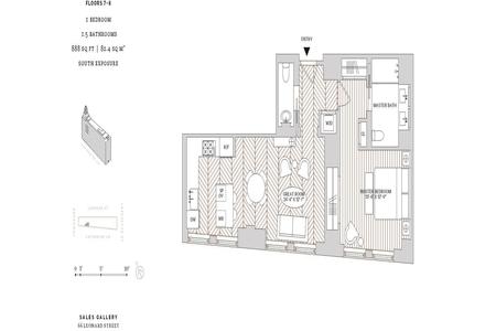 1 Bed at 120 Riverside Blvd Unit 7D