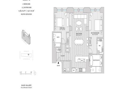 2 Bed at 120 Riverside Blvd Unit 7H