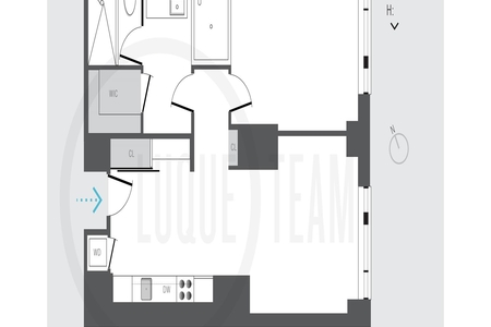 1 Bed at 120 Riverside Blvd Unit 7G
