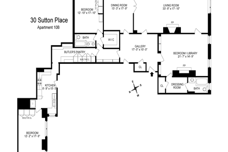 3 Bed at 120 Riverside Blvd Unit 10B