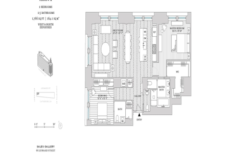 2 Bed at 120 Riverside Blvd Unit 10A