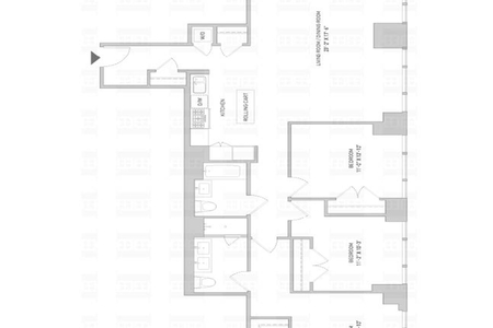3 Bed at 120 Riverside Blvd Unit PH50D