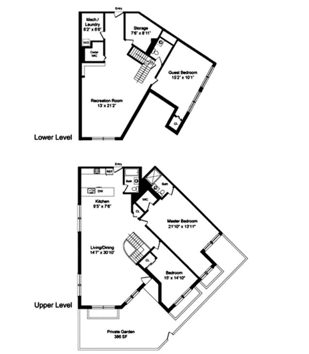 2 Bedrooms At 42nd St Posted By Alina Borgovan For 2875