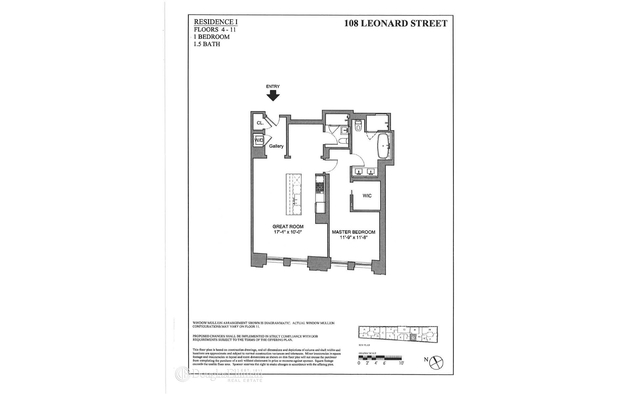 108 Leonard St, , 10013 - Photo 1