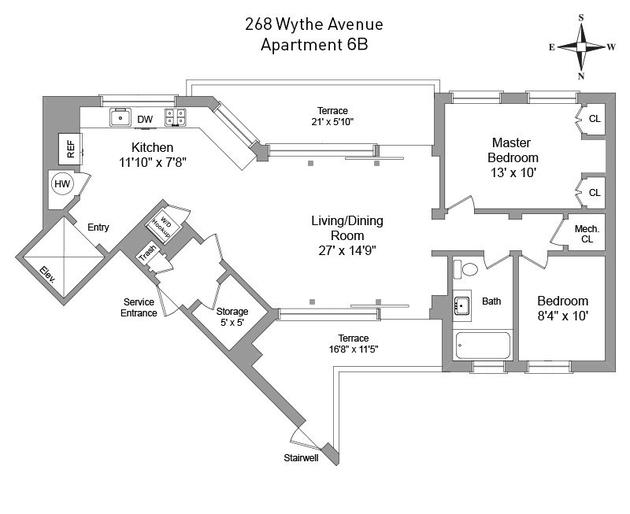 268 Wythe Ave, New York City, NY, 11211 - Photo 2