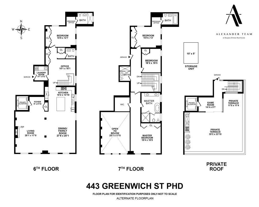 Unit PHD at 443 Greenwich Street, New York, NY 10013