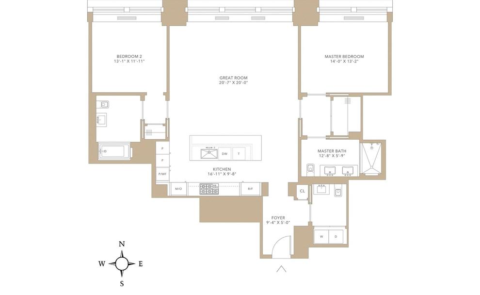 Unit 11C at 212 5th Avenue, New York, NY 10010