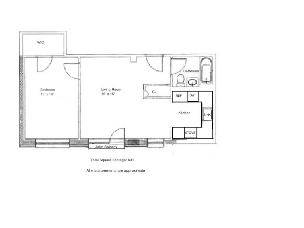 Unit 3C at 30-94 Crescent Street, Astoria, NY 11102