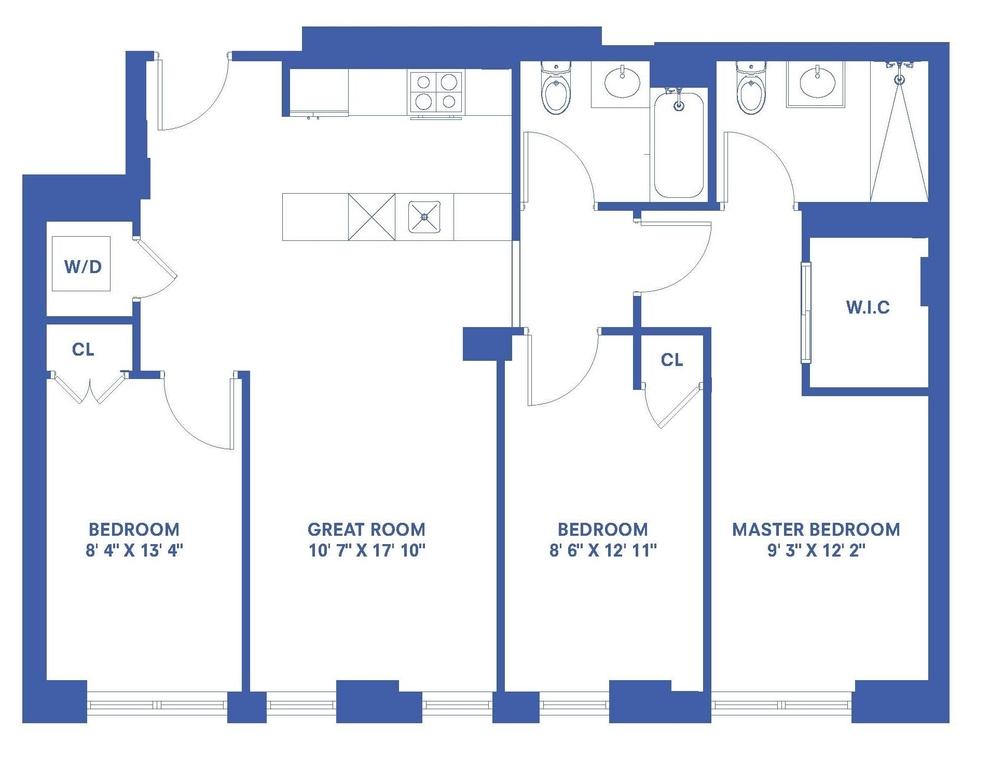 Unit 4E at 906 Prospect Place, Brooklyn, NY 11213