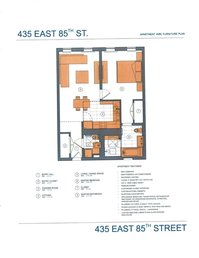 Unit 4MN at 435 East 85th Street, New York, NY 10028
