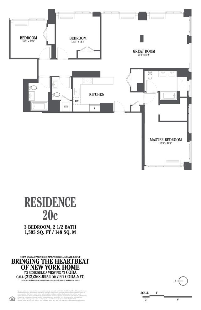 Unit 20C at 385 1st Avenue, New York, NY 10010
