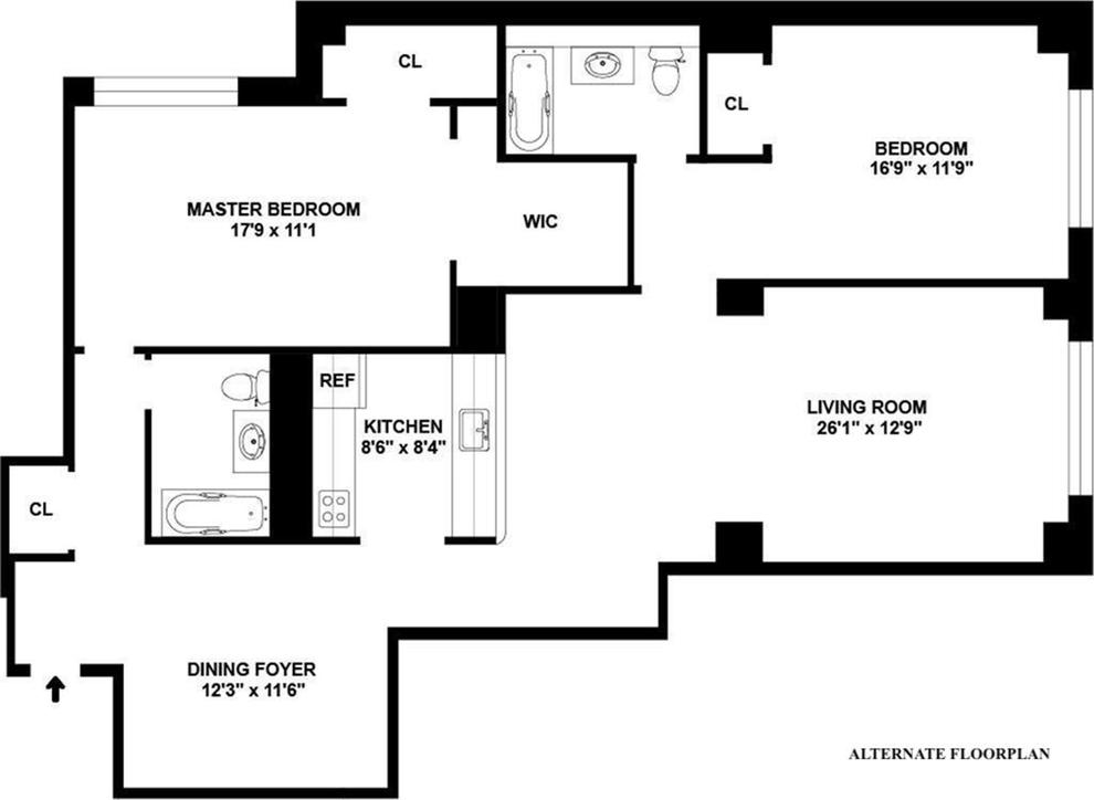 Unit 4B at 380 Lenox Avenue, New York, NY 10027