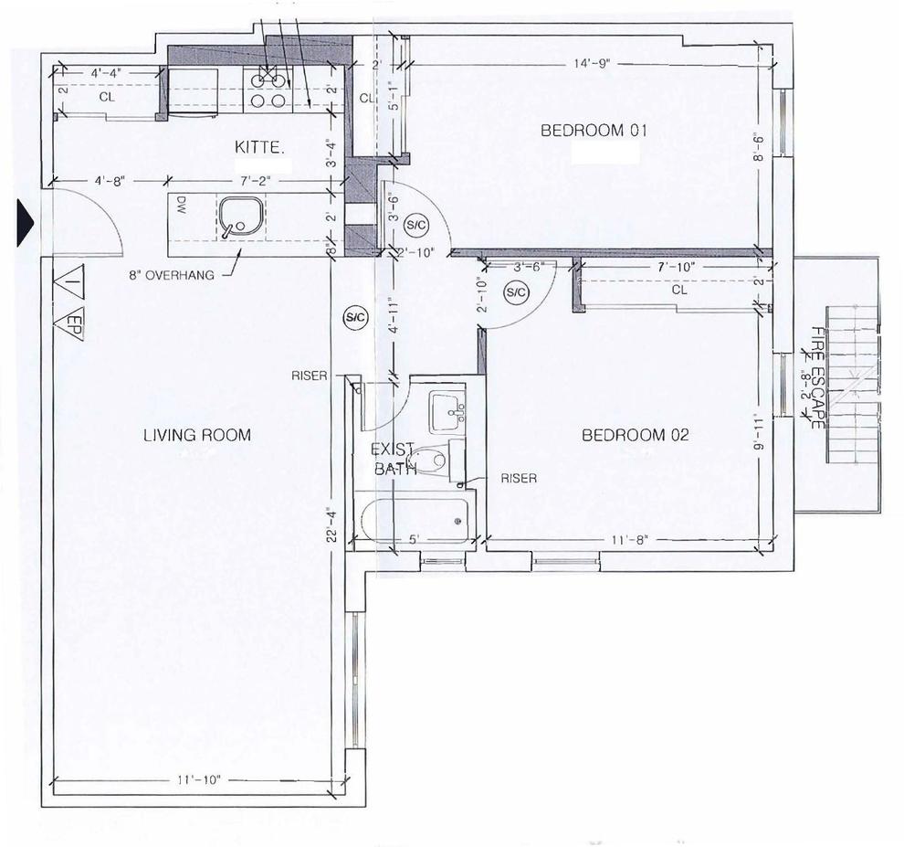 Unit 309 at 69 Bennett Avenue, New York, NY 10033