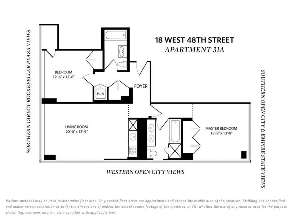 Unit 31A at 18 West 48th Street, New York, NY 10036