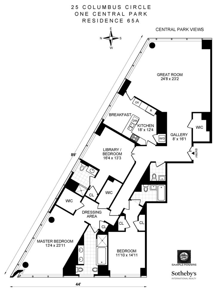 Unit PH2A at 351 East 51st Street, New York, NY 10022