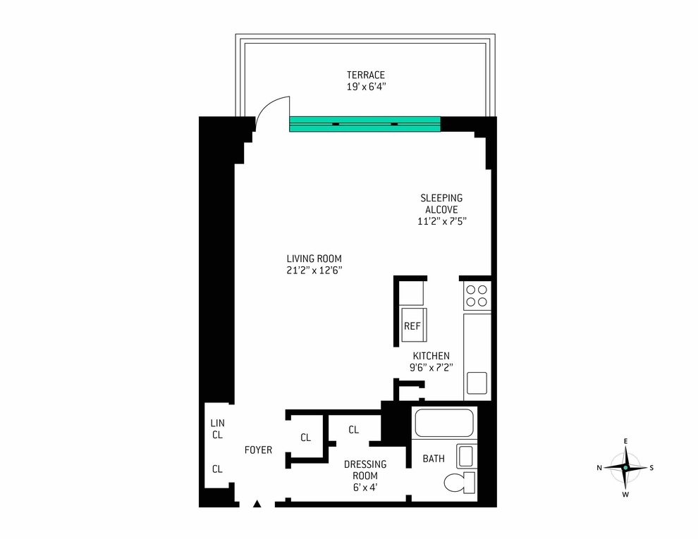 Unit 14B at 160 West End Avenue, New York, NY 10023