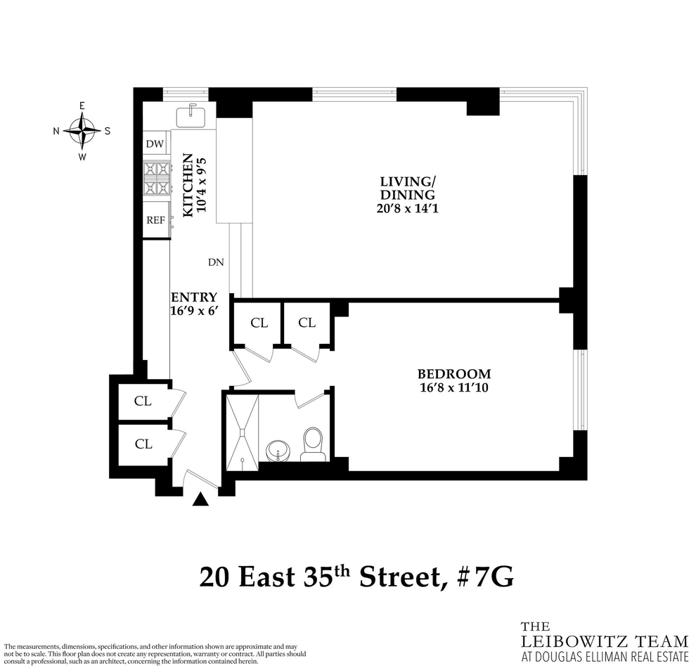 Unit 7G at 20 East 35th Street, New York, NY 10016