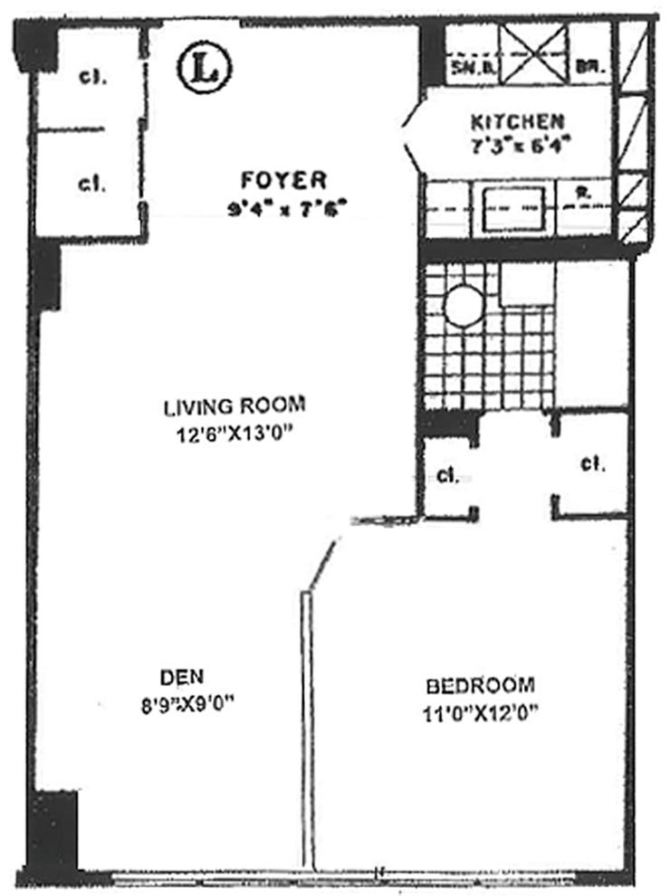 Unit 7L at 155 East 34th Street, New York, NY 10016