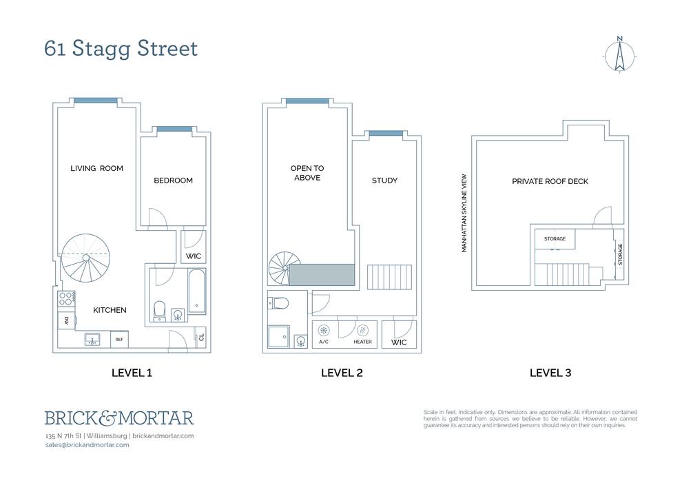 Unit 4B at 61 Stagg Street, Brooklyn, NY 11206